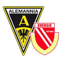 Alemannia Aachen gegen Energie Cottbus