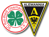 Alemannia Aachen zu Gast bei RW Oberhausen