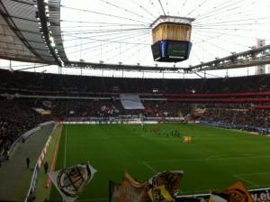 Eintracht Frankfurt gegen Alemannia Aachen 2011/2012