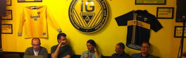 Trainer Peter Hyballa im Werner-Fuchs-Haus